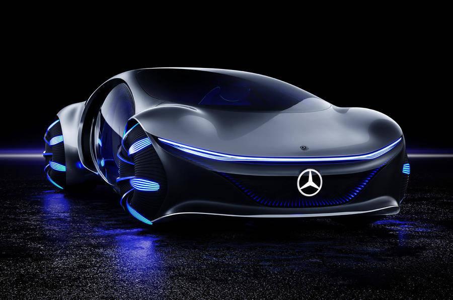 Mercedes-Benz Vision AVTR ile ilgili görsel sonucu