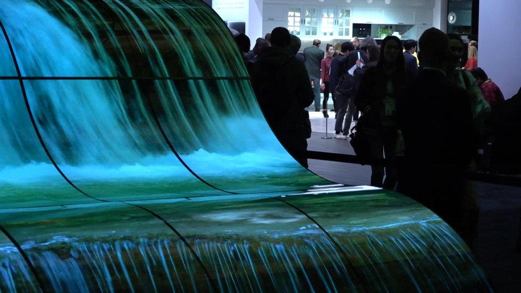 LG The Fountain screens ile ilgili görsel sonucu