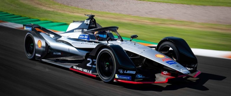 Nissan Formula E pistte