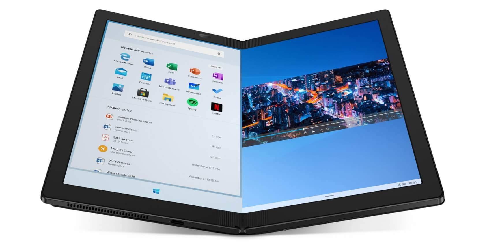 ThinkPad X1 Fold ile ilgili görsel sonucu