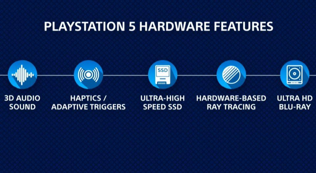 sony playstation 5 teknik özellikleri