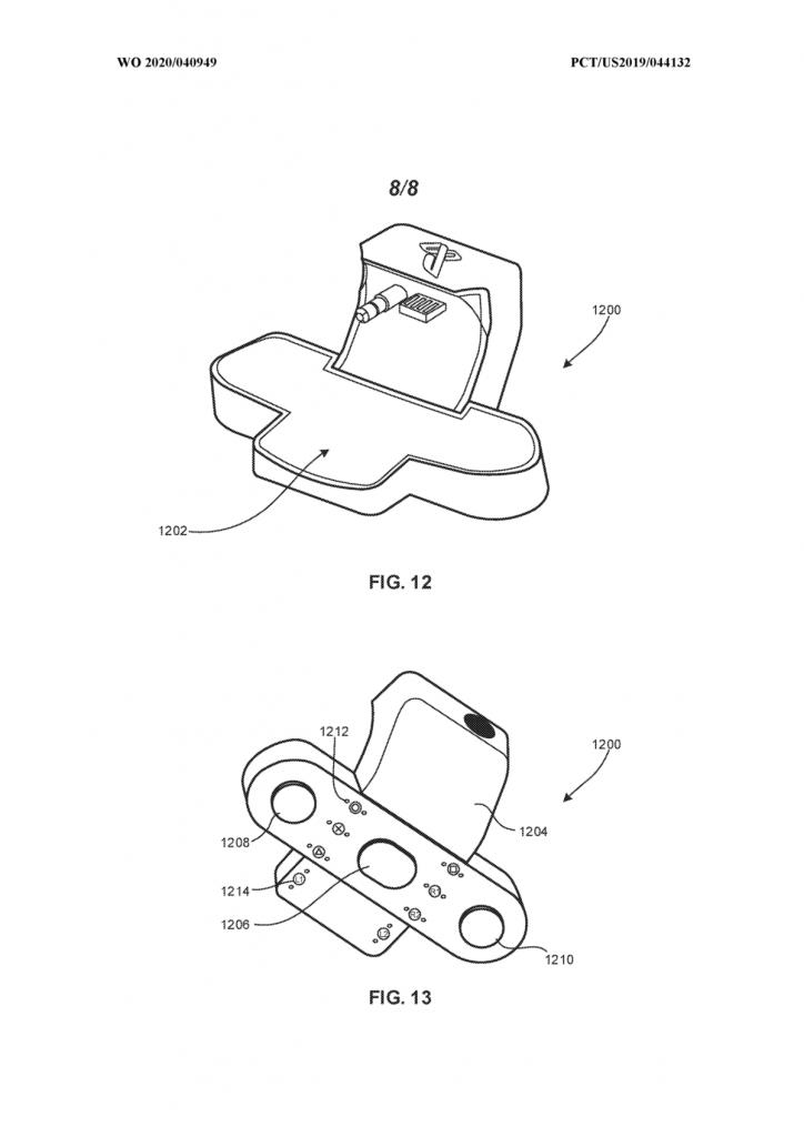 kablosuz bir şarj eklentisinin patenti