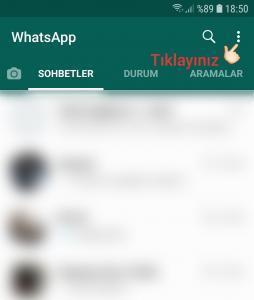 xWhatsApp'ta Son Görülme Nasıl Kapatılır