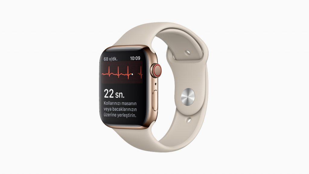 Apple Watch EKG özelliği Türkiye