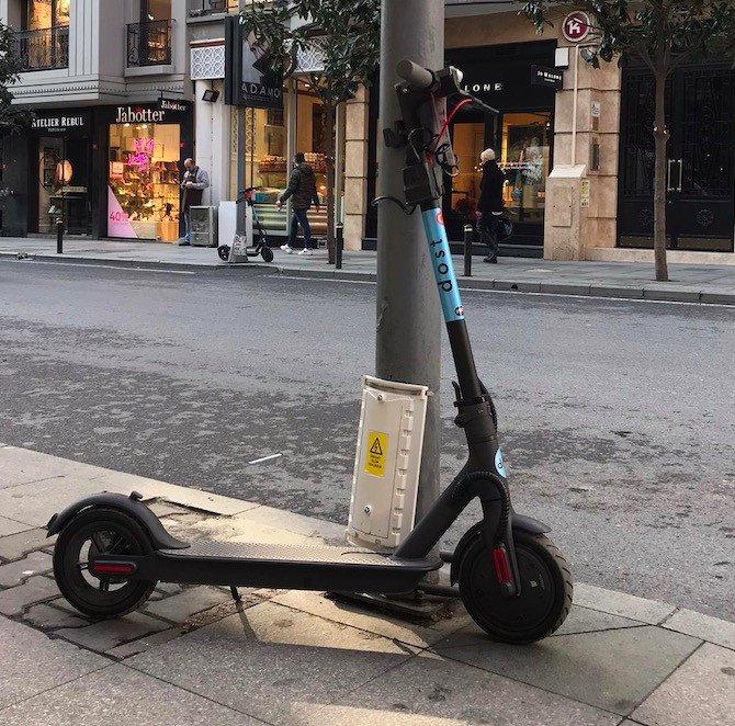 dost scooter nasil kullanilir