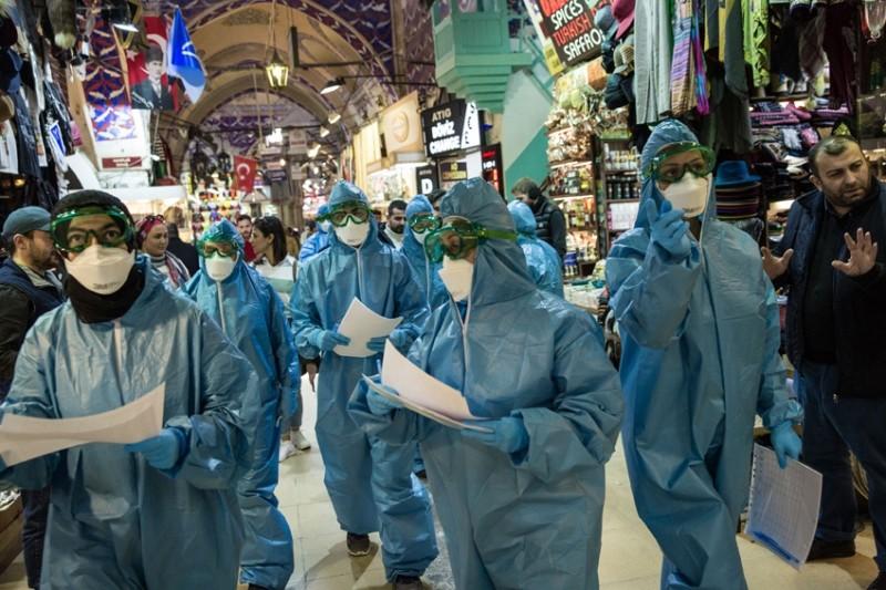 koronavirüs istanbul kapalıçarşı esnaf