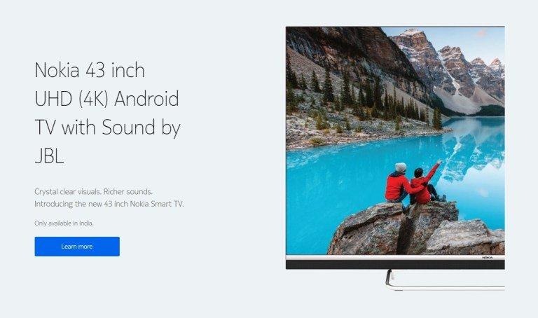 Nokia Smart TV 43 özellikler