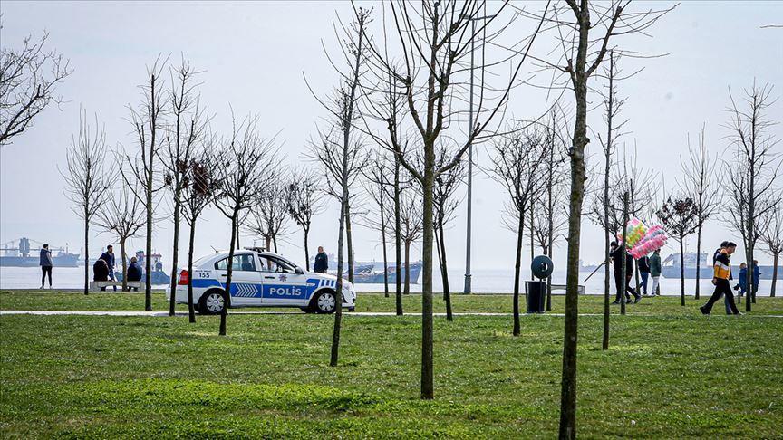 park ve sahil alanlarına yasak