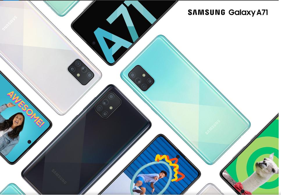 SamsungGalaxyA71 teknik özellikler