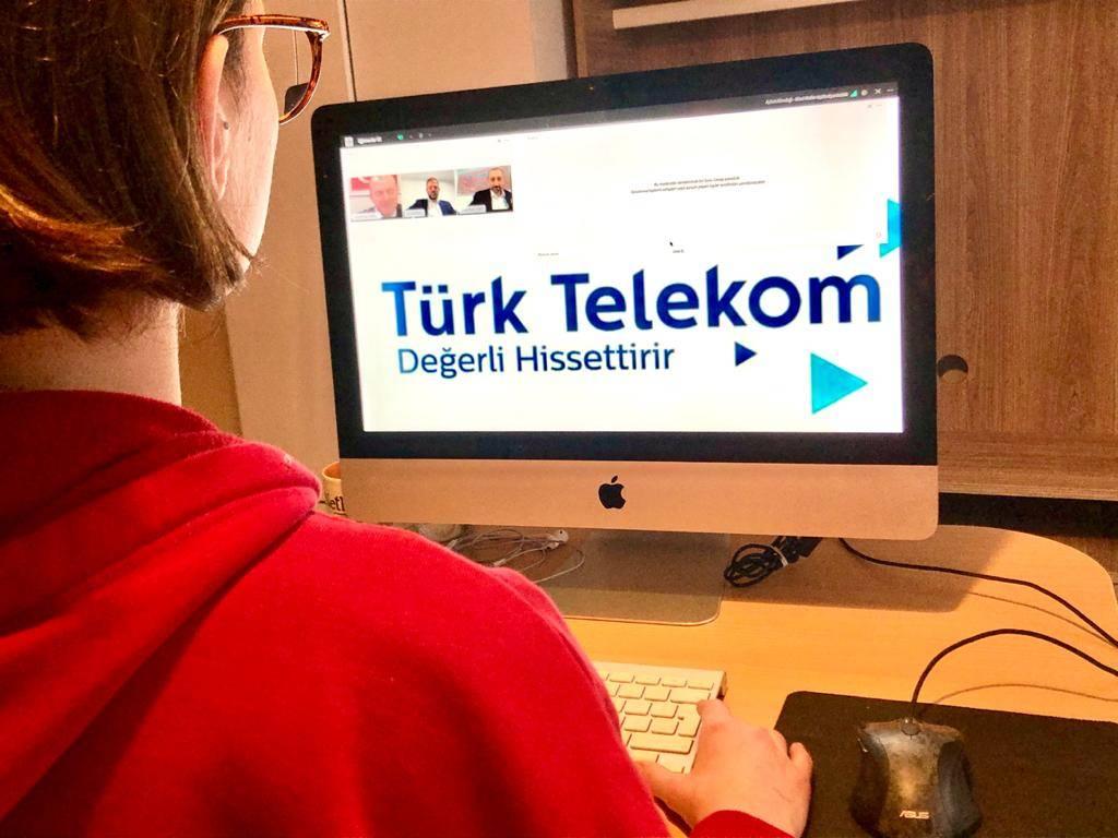 türk telekom online basın toplantısı