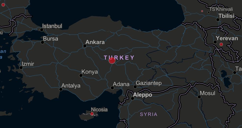 Türkiye'de coronavirüs yayılımı