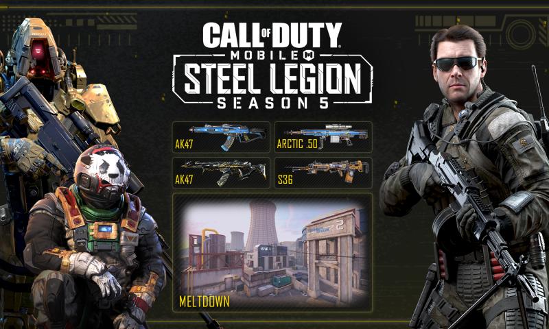 Call of Duty: Mobile 5. Sezon yenilikler