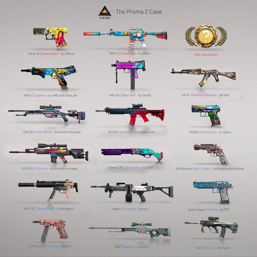 CS: GO yeni silah kaplamaları