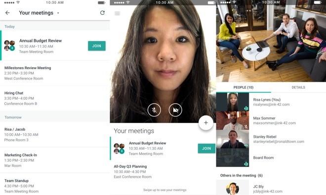google-meet-sayfa-duzeni