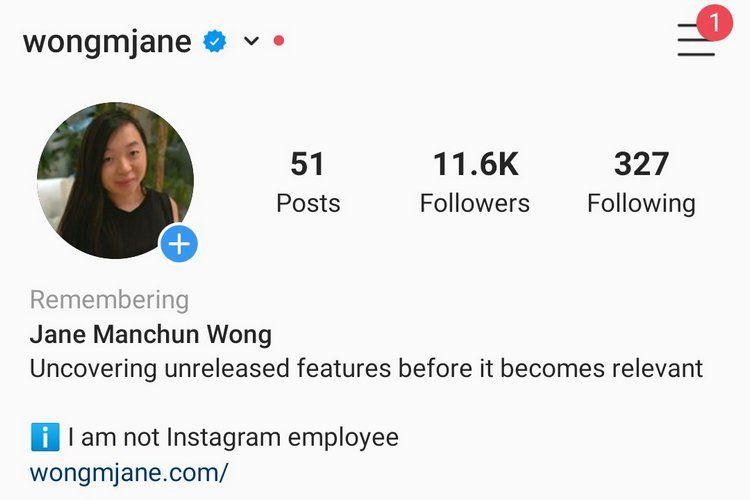 Instagram Anılıyor Etiketi