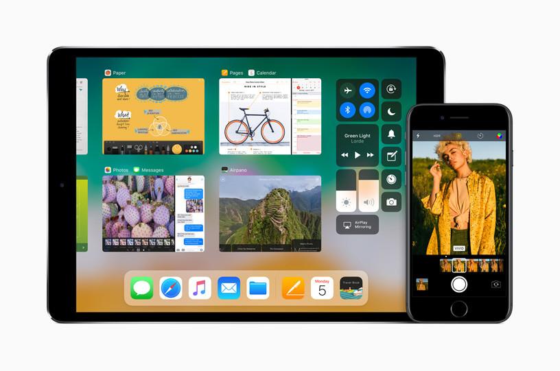 iPad ve iPhone'lardaki Açık