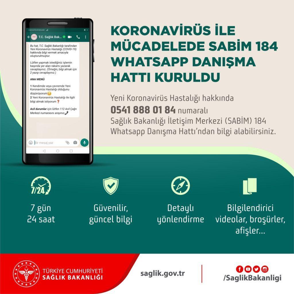 koronavirüs-whatsapp-danisma-hatti