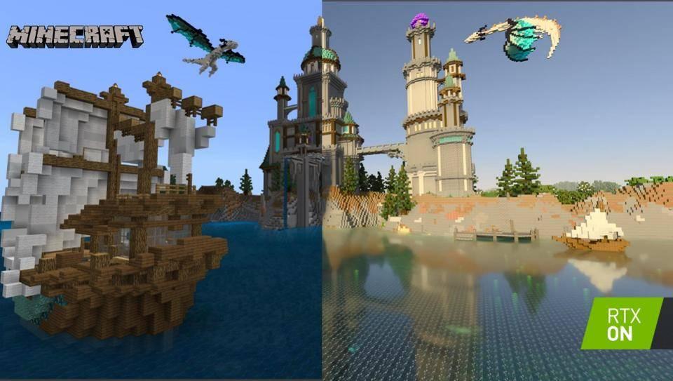 Minecraft RTX açık beta