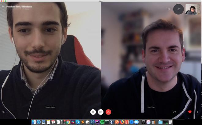Skype Arka Plan Bulanıklaştırma