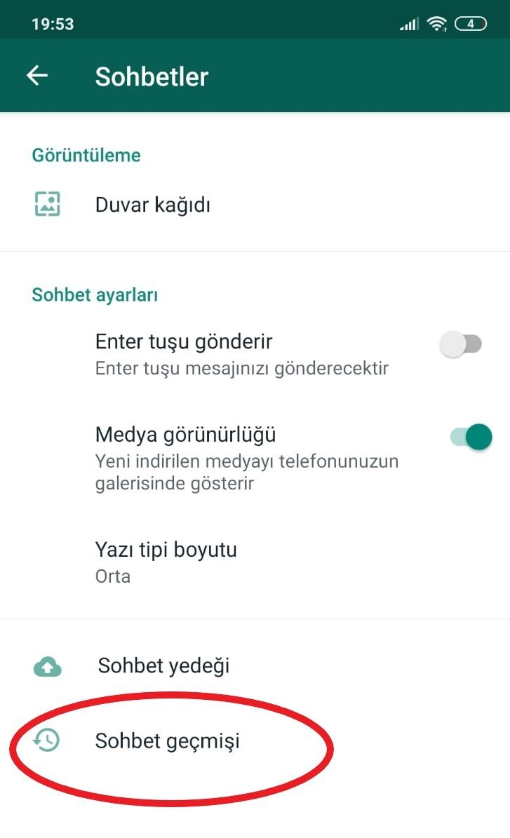 whatsapp mesaj arşivleme android nasıl yapılır