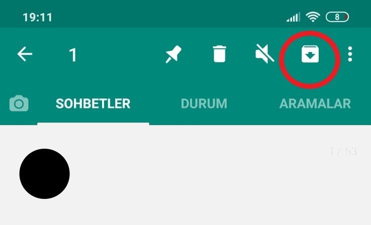 whatsapp mesaj arşivleme androidnasıl yapılır