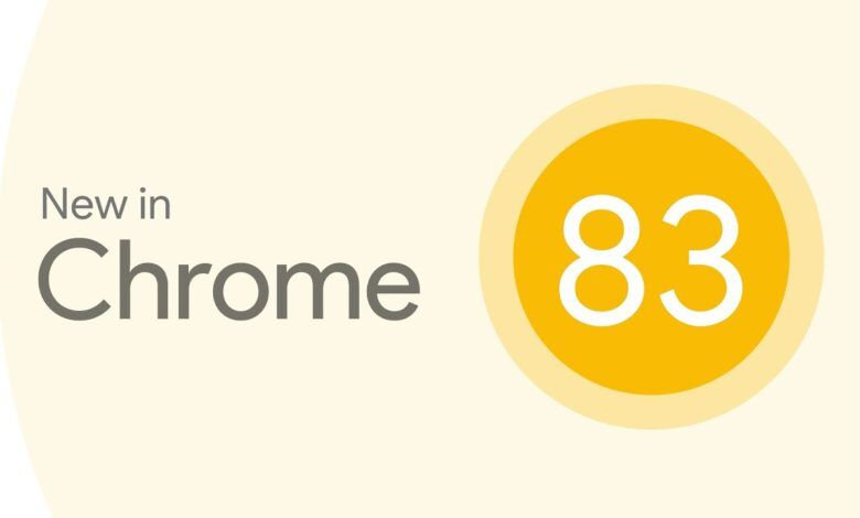 Google Chrome 83 Güncellemesi
