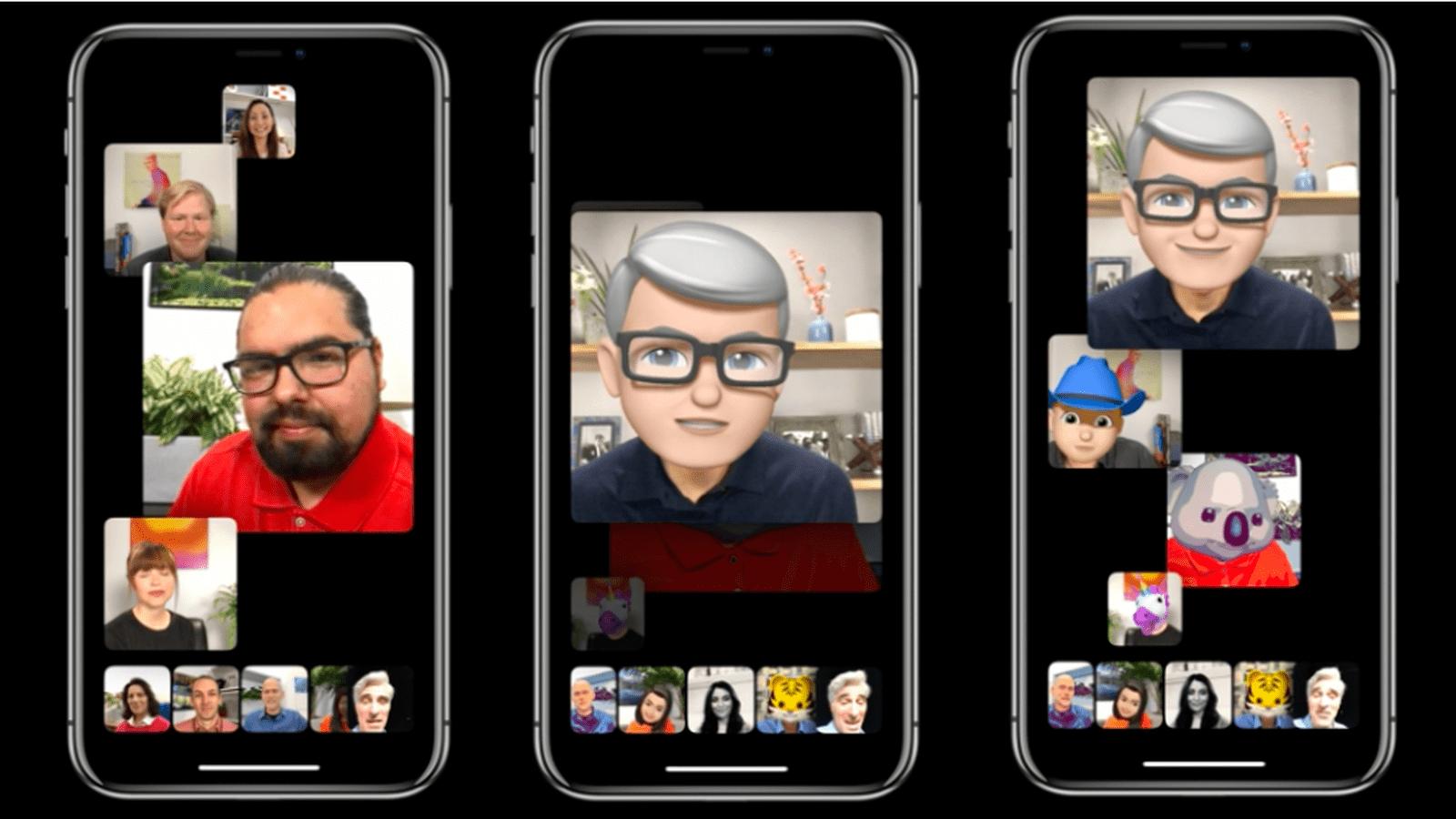 facetime video konferans
