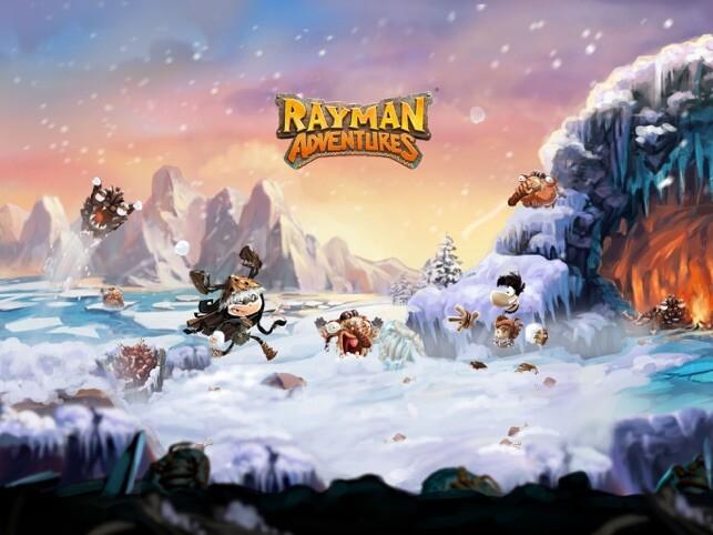 Rayman Advantures oyunu