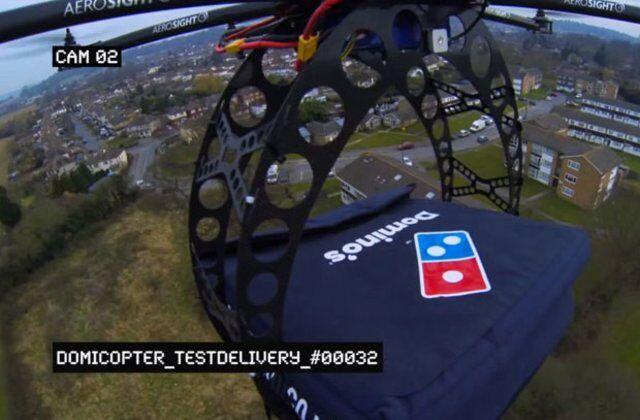 Dominos Drone Teknolojisi
