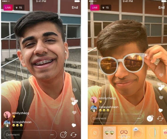 Instagram Canlı Yayın Efektleri Nasıl Yapılır