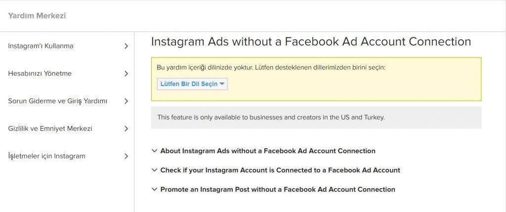 Instagram Reklam Yönetimi