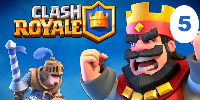 mobil oyun önerisi clash royale
