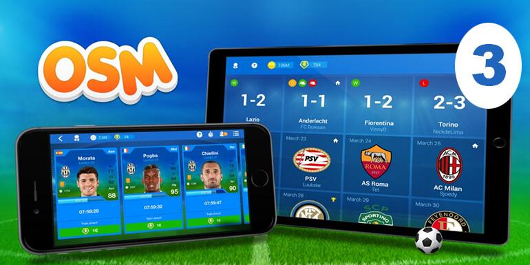 Online Soccer Manager oyunu