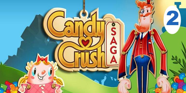 telefonda en çok oynanan oyunlar candy crush saga