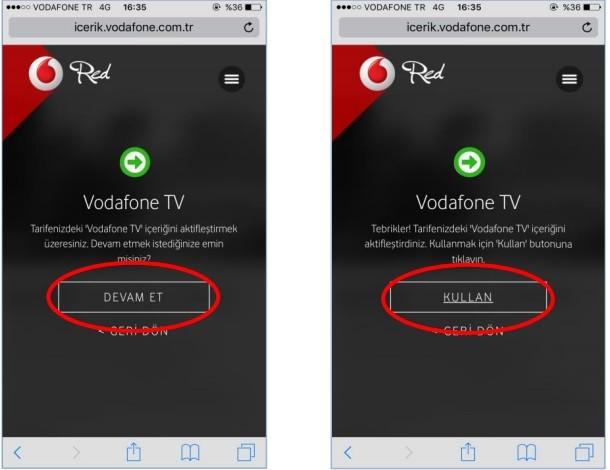 vodafone tv nasıl kullanılır