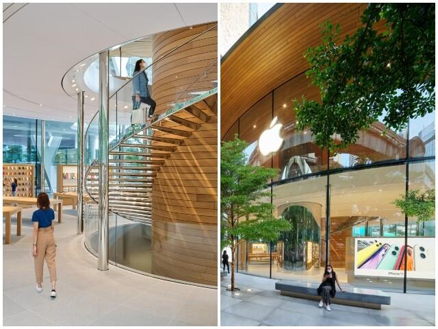 Apple Tamamen Camdan Mağaza