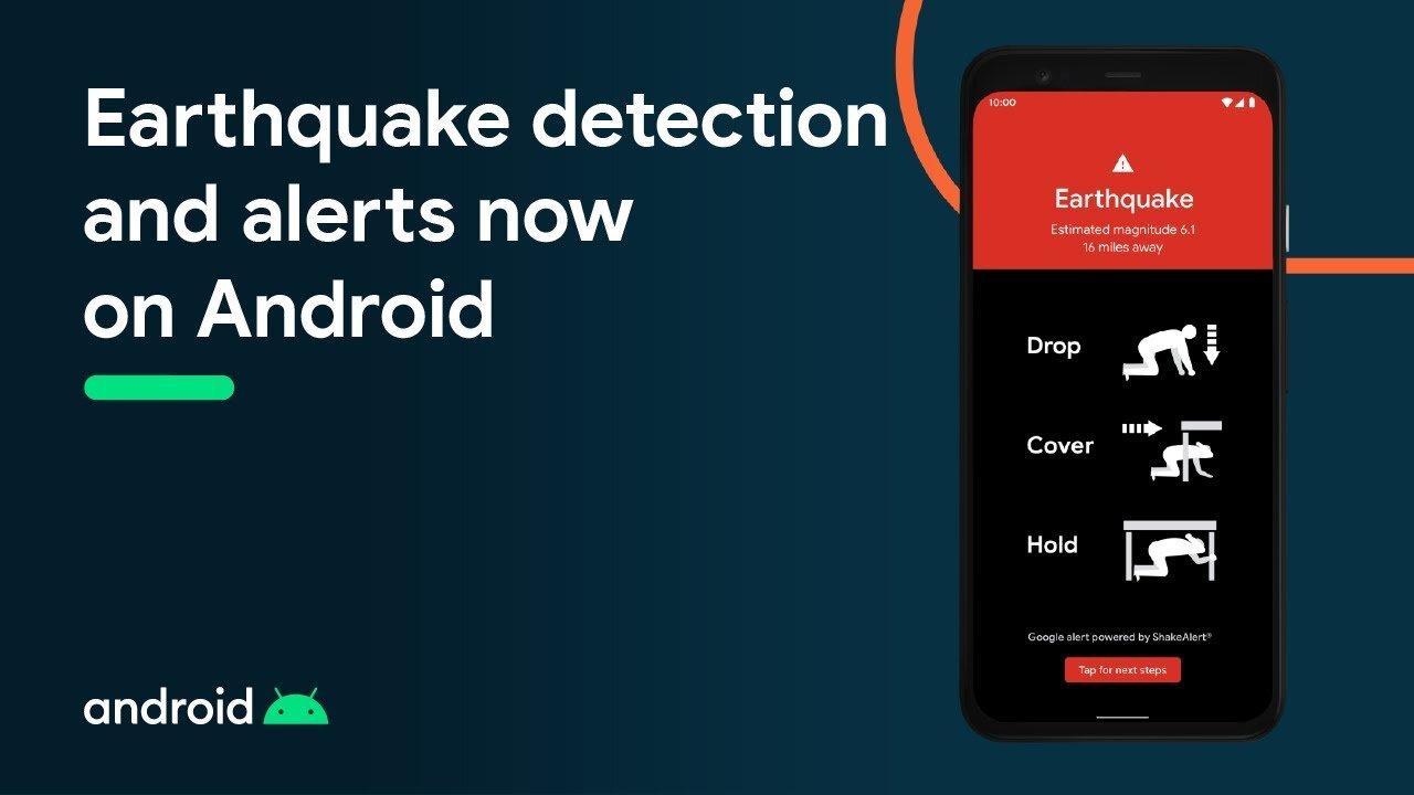 Google Deprem Uyarısı