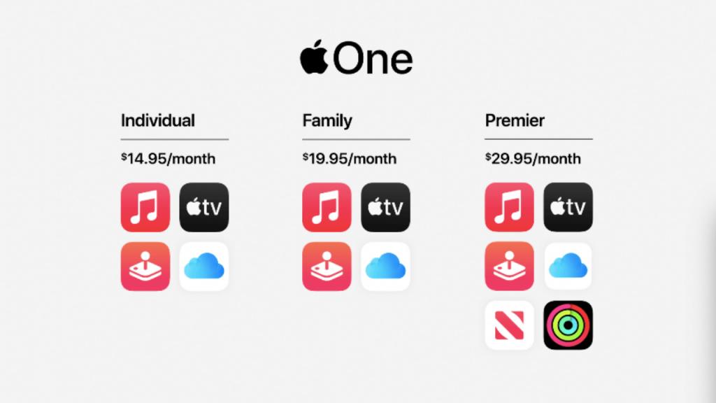 Apple One Bireysel Abonelik