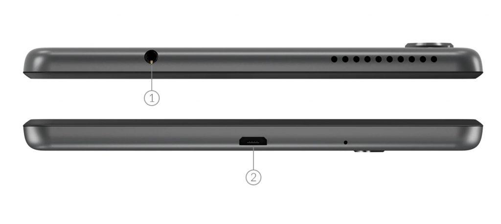 Lenovo TAB M8 HD Tasarımı