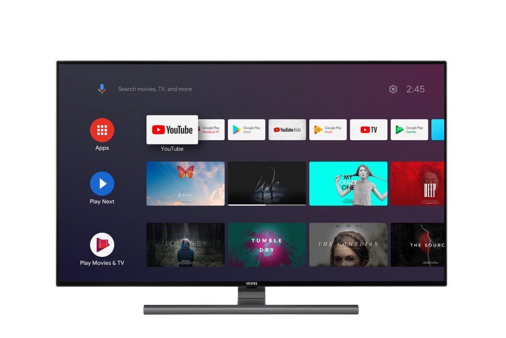 Vestel Android TV İşletim Sistemi