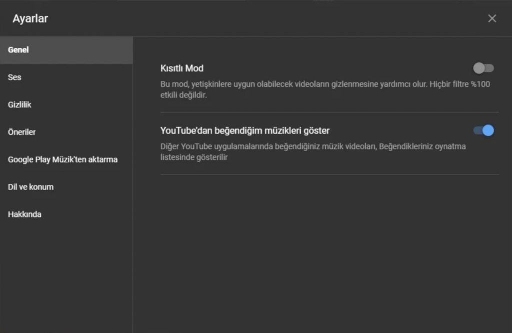 YouTube Music Yeni Özellik