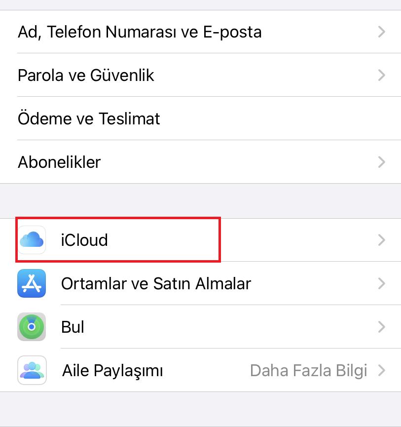 apple telefon aktarma