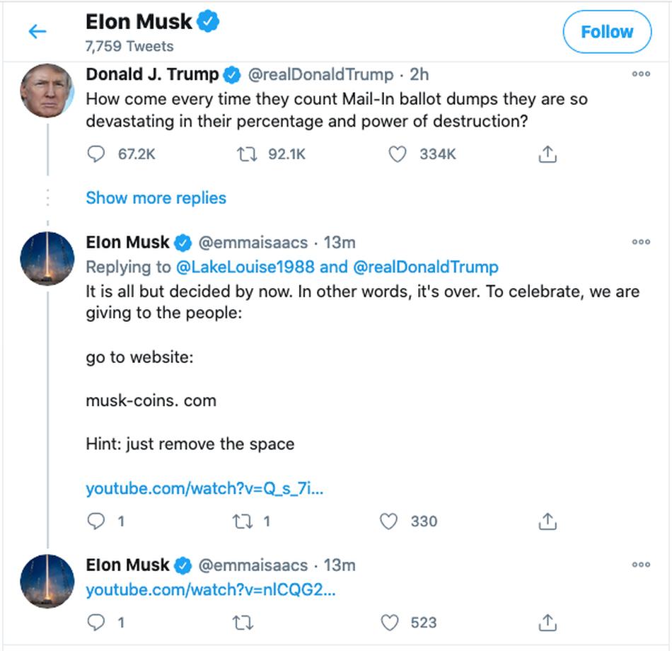 Elon Musk Twitter Kripto Para Dolandırıcılığı