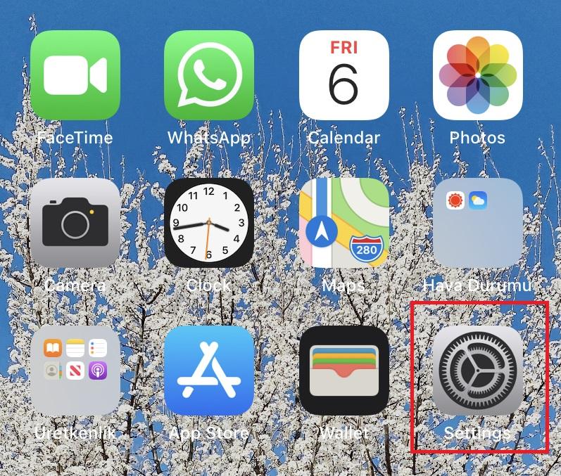 iOS Telefon İngilizce Oldu, Ne Yapmalıyım