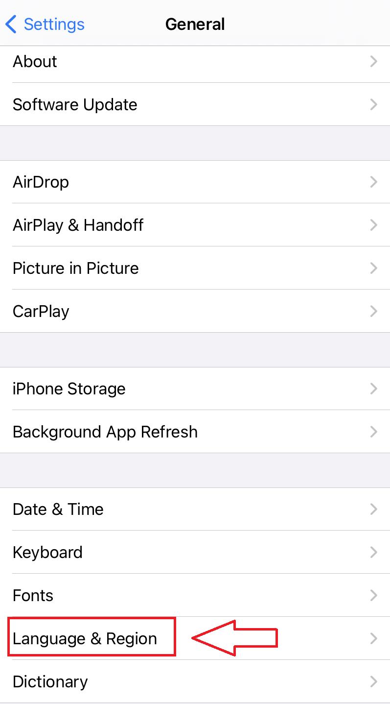 iphone ingilizce oldu nasıl düzeltilir
