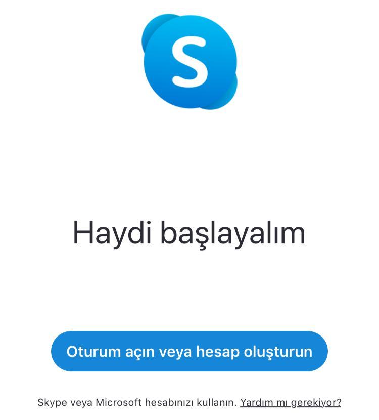 skype mobil nasıl kullanılır
