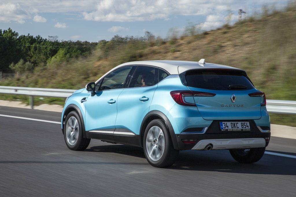 Yeni Renault Captur Bagaj Hacmi