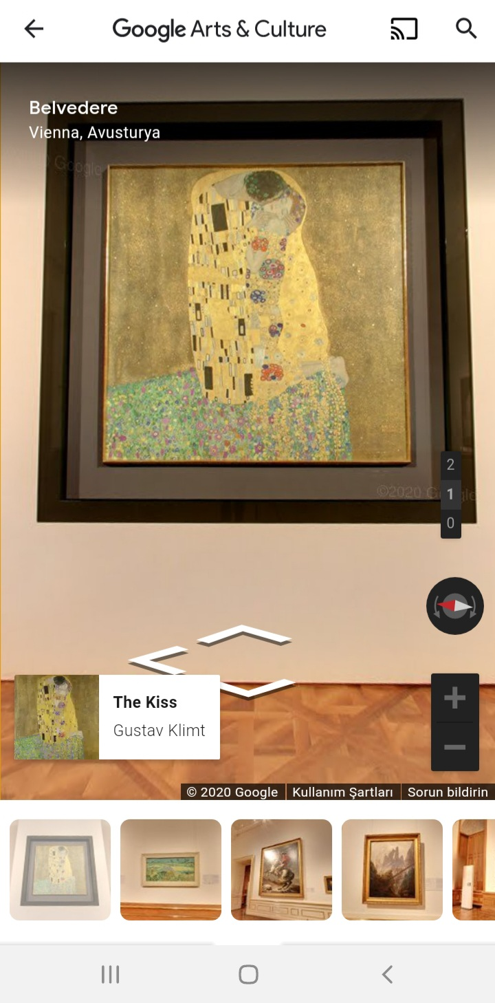 Google Arts and Culture Efektleri