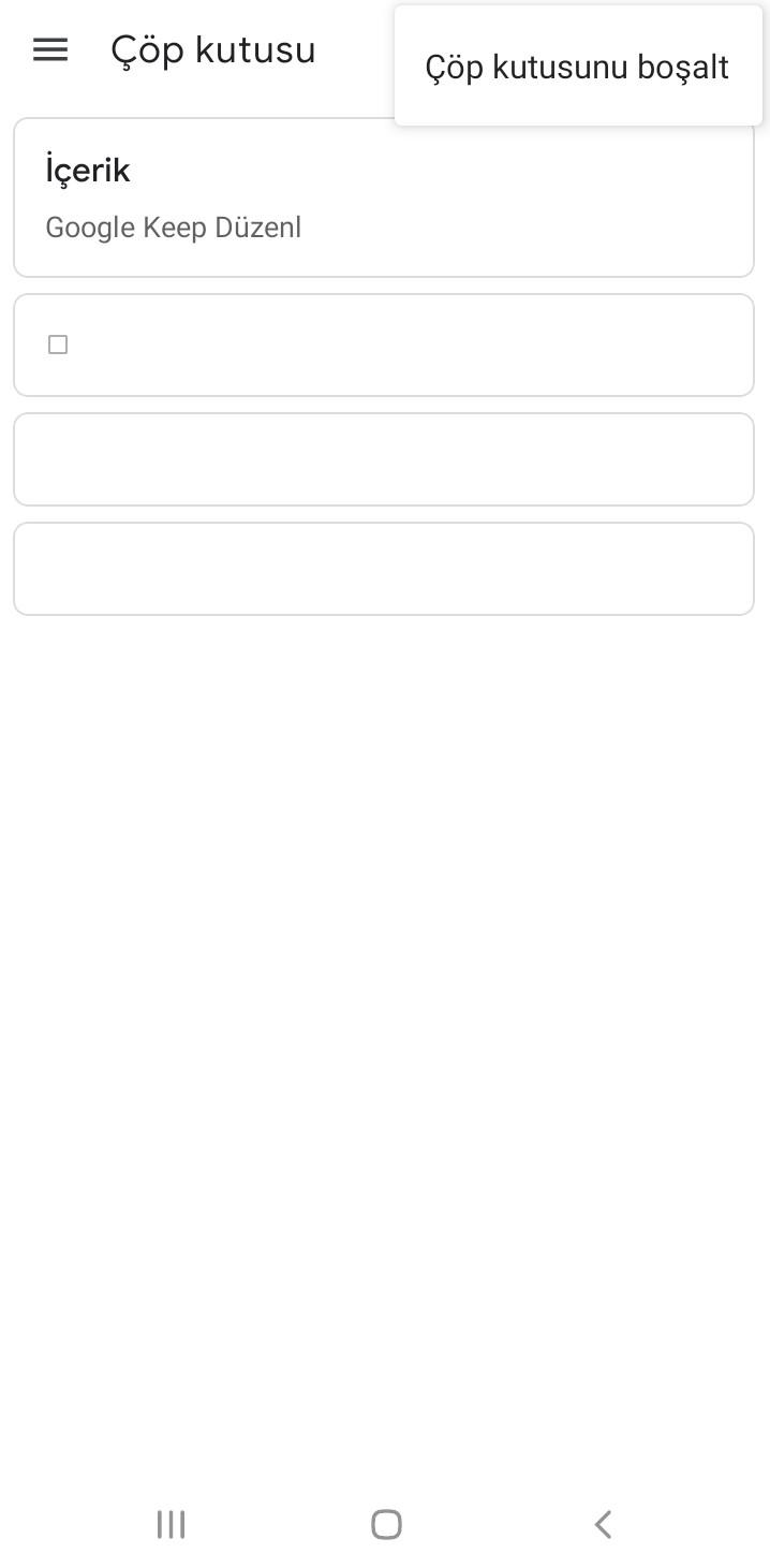 Google Keep Nasıl Kullanılır?