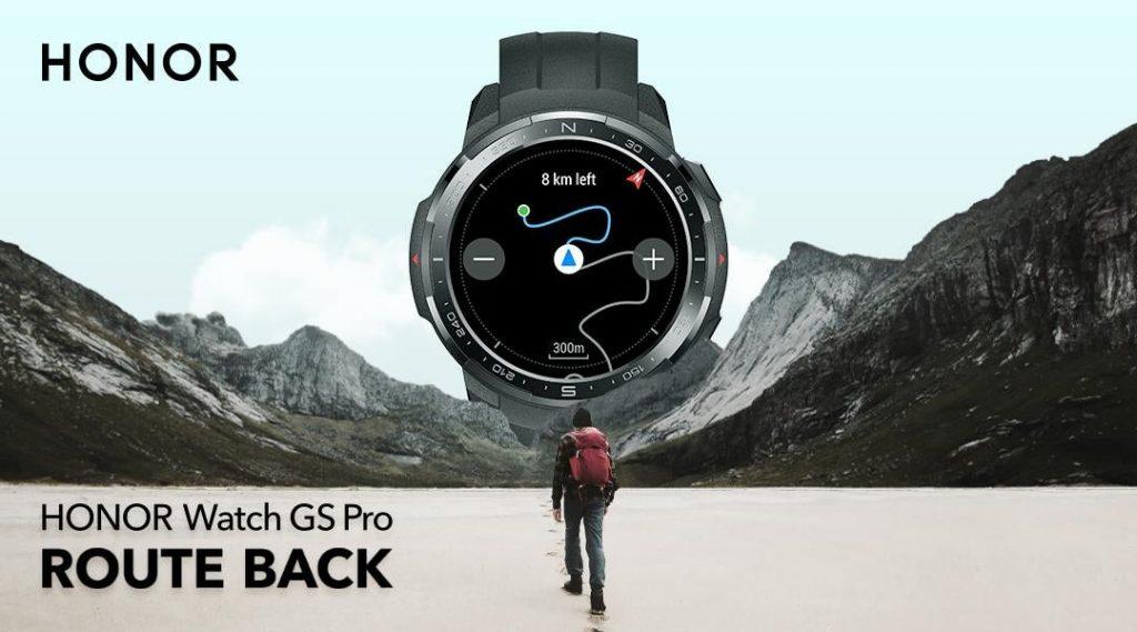 Honor Watch GS Pro Rota Takibi